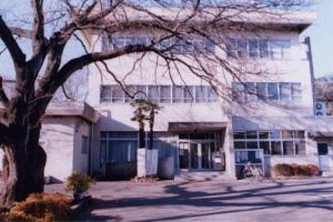 画像:大門図書館 外観