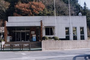 画像:成木図書館 外観